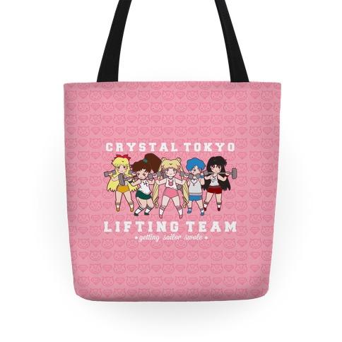 Crystal Tokyo Lifting Team Tote