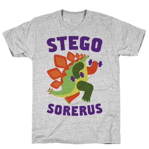 Stego-sore-rus Mens T-Shirt