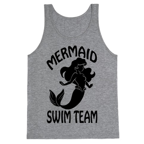 Mermaid Swim Team Tank Top