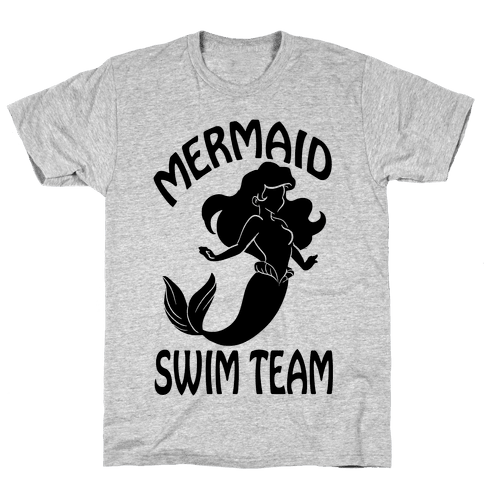Mermaid Swim Team Mens T-Shirt