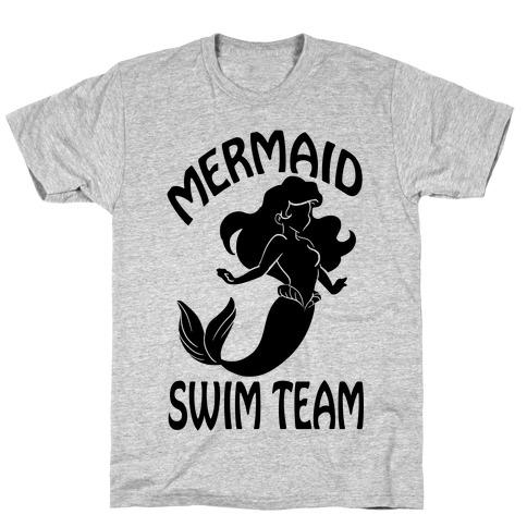 Mermaid Swim Team Mens T-Shirt
