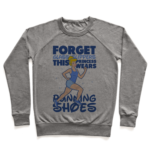 Forget Glass Slippers This Princess Wears Running Shoes Pullover
