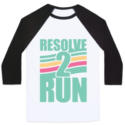 Resolve 2 Run Baseball Tee