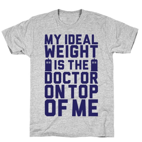 Ideal Weight (Doctor Who) T-Shirt