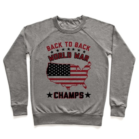 879e3eeb Back to Back World War Champs Pullover