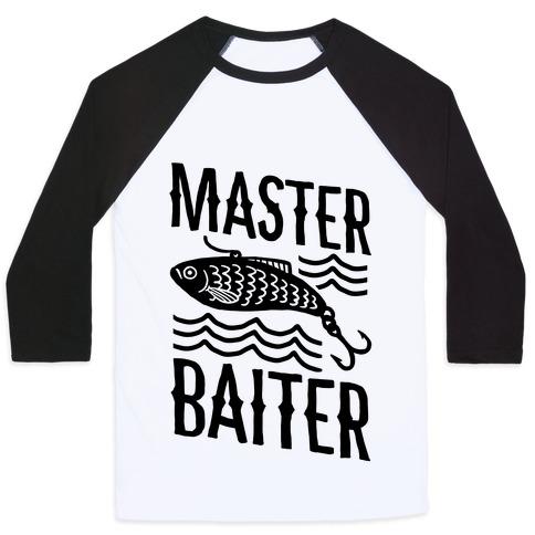 Master Baiter Baseball Tee
