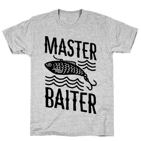 Master Baiter Mens T-Shirt