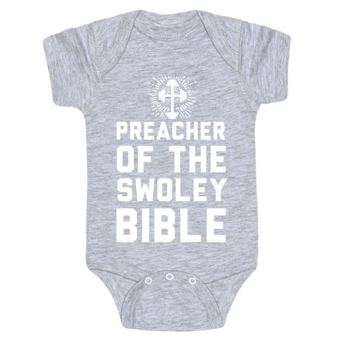Preacher of the Swoley Bible Baby Onesy