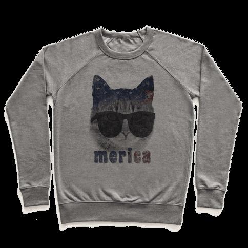 Merica Cat Pullover