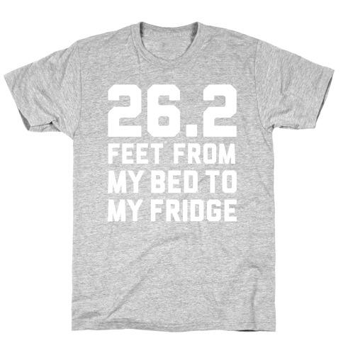 Bed To Fridge Mens T-Shirt
