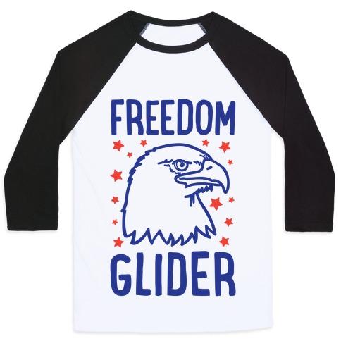 Freedom Glider Baseball Tee
