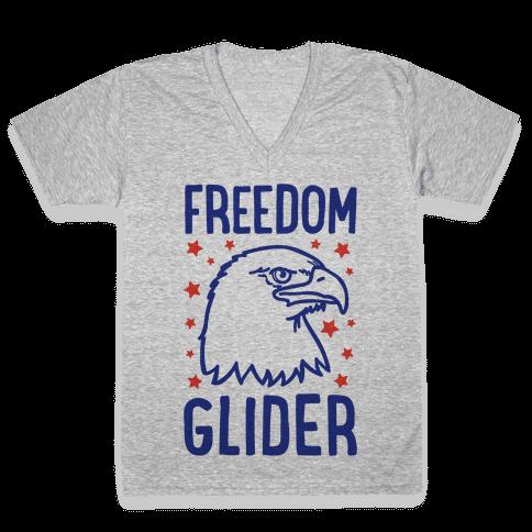 Freedom Glider V-Neck Tee Shirt