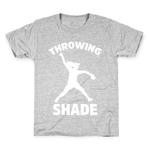 Throwing Shade (Softball) Kids T-Shirt