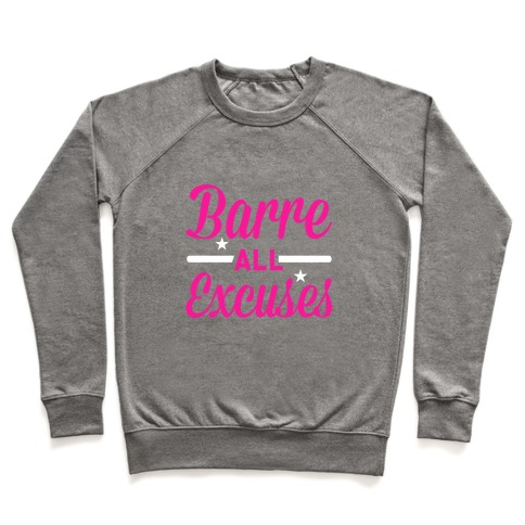 Barre all Excuses Pullover