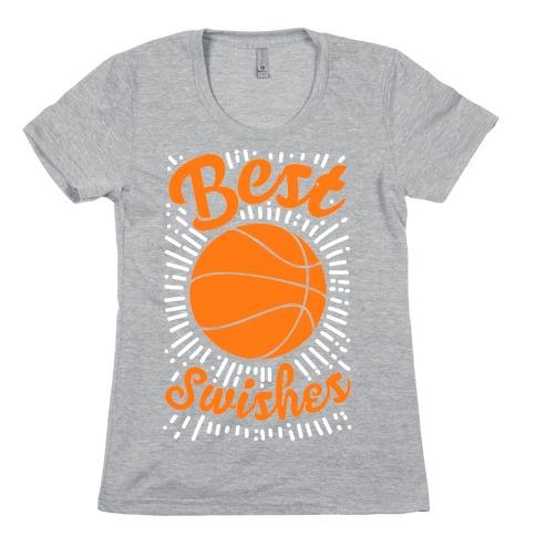 Best Swishes Womens T-Shirt