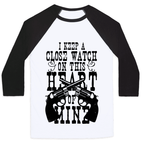 I Keep A Close Watch On This Heart Of Mine Baseball Tee