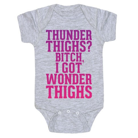Wonder Thighs Baby Onesy