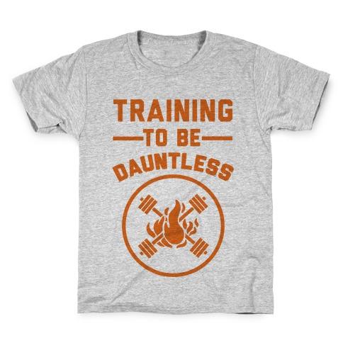 Training To Be Dauntless Kids T-Shirt