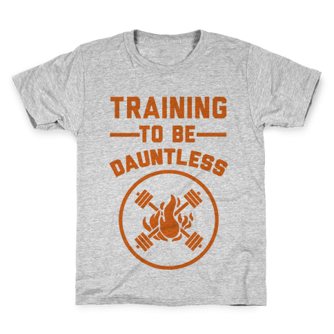 Training To Be Dauntless Kids T-Shirt