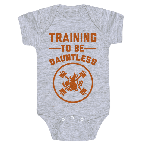 Training To Be Dauntless Baby Onesy