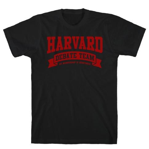 Harvard Debate Team Parody Shirt T-Shirt