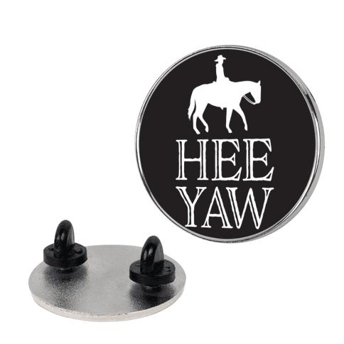 Hee Yaw Cowboy Pin
