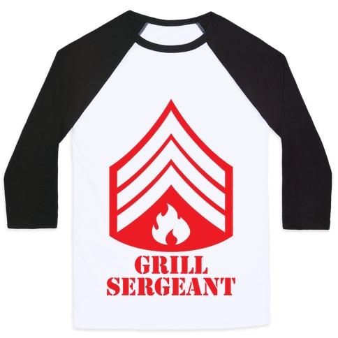 Grill Sergeant Baseball Tee