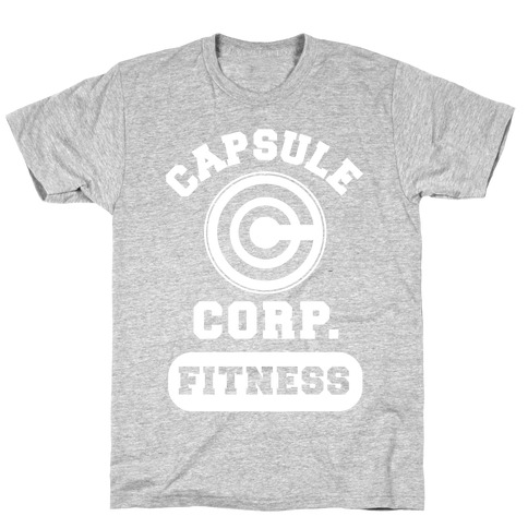 Capsule Corp. Fitness T-Shirt