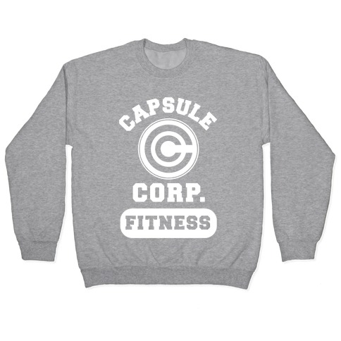 Capsule Corp. Fitness Pullover