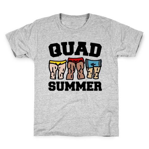Quad Summer Kids T-Shirt
