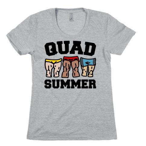 Quad Summer Womens T-Shirt