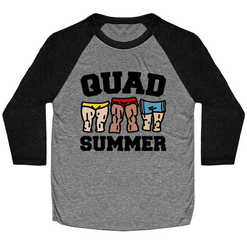 Quad Summer Baseball Tee