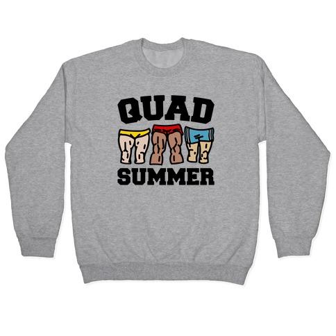 Quad Summer Pullover