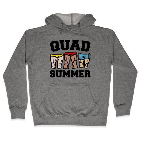 Quad Summer Hooded Sweatshirt