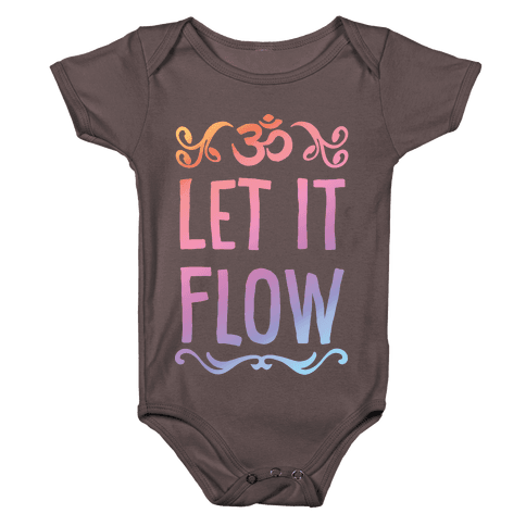Let It Flow Yoga Baby One-Piece