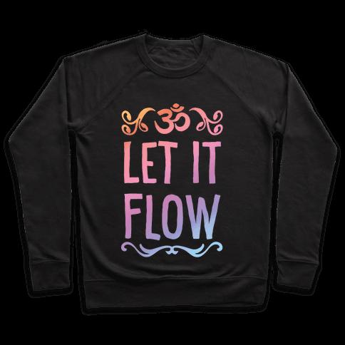 Let It Flow Yoga Pullover