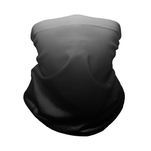 Grayscale Dark Neck Gaiter