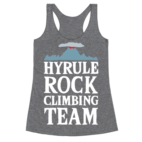 Hyrule Rock Climbing Team Racerback Tank Top
