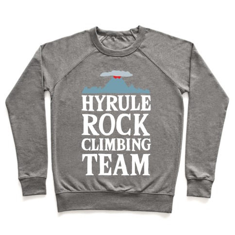 Hyrule Rock Climbing Team Pullover