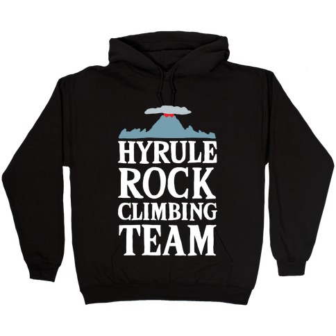 Hyrule Rock Climbing Team Hooded Sweatshirt