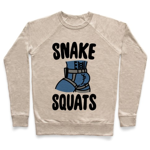 Snake Squats Parody Pullover