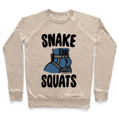 Snake Squats Parody Pullover
