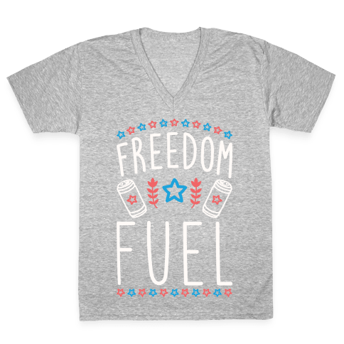 Freedom Fuel V-Neck Tee Shirt