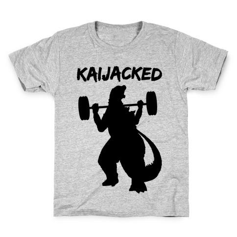 Kaijacked Kaiju Gozilla Kids T-Shirt