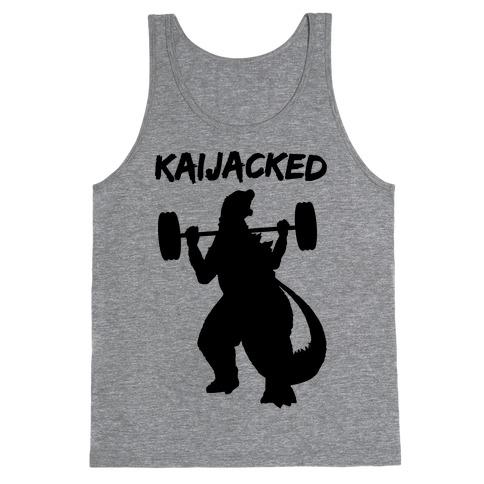 Kaijacked Kaiju Gozilla Tank Top