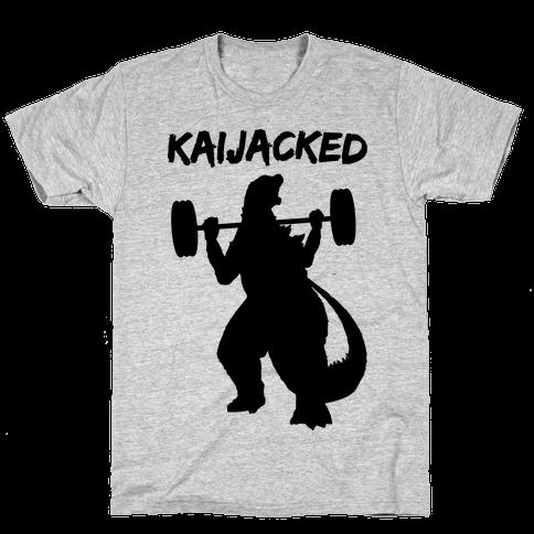 Kaijacked Kaiju Gozilla Mens/Unisex T-Shirt