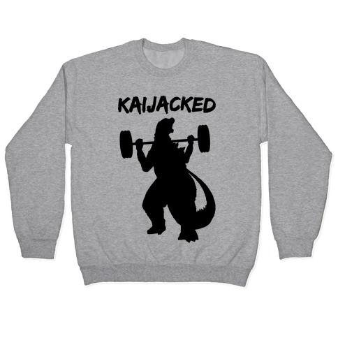 Kaijacked Kaiju Gozilla Pullover