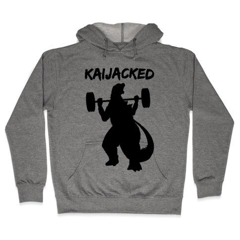 Kaijacked Kaiju Gozilla Hooded Sweatshirt