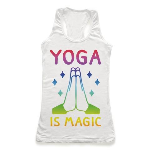 Yoga Is Magic Racerback Tank Top