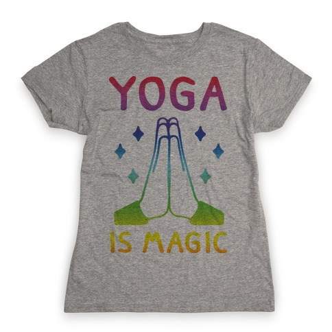 Yoga Is Magic Womens T-Shirt